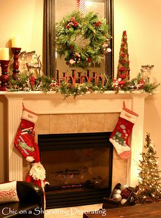 LOVE.. Nothing like Traditional Christmas Decor!