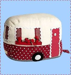 Ahh toaster cover? or whatever...totally adorable