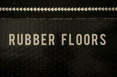 Rubber flooring in the bathroom » Emily McCall tutorial