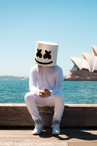 2016 Marshmello DJ I chose Marshmello because we both know how to use turntables