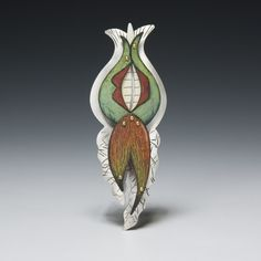 one of the pieces from Carnivorous Garden at www.crimsonlaurelgallery.com