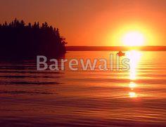 """""""Fishing Buddies"""" - Bar and Man Cave Decor available at Barewalls.com"""
