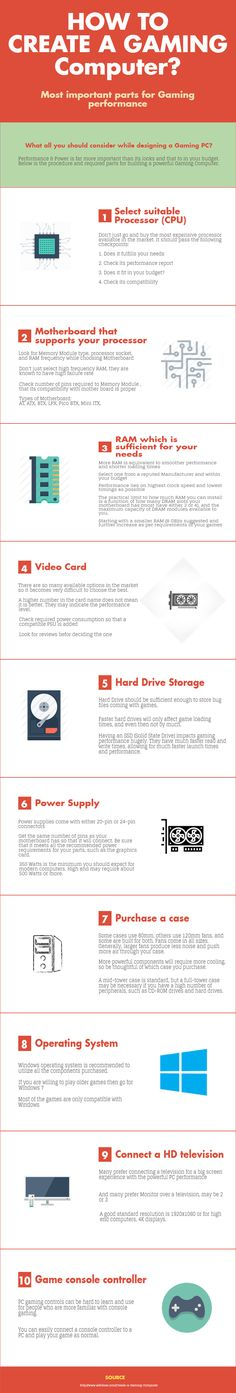 How to create a Gaming Computer? Complete guide to build gaming PC at your own in your budget. Visit: http://www.asap-ittechnology.com/