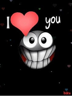 Animated, I Love You, Love, Valentine, Heart, Smiley, Smiley Face, Funny, Cool, Cute, Smile, Hearts, Cute_Stuff