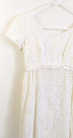 5894619d388d Vintage 1960s Wedding Dress Emma Domb Wedding Dress White Emma Domb 60s  Wedding Gown Lace Wedding Dr