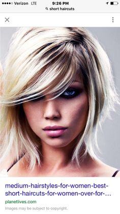 Blonde w/ point-cut layers