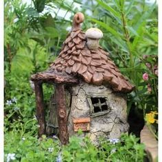 Gnomes's Getaway for the friendly Gnome who enjoys Fairies company. 6″ Tall | 4.75″ Wide | 5″ Deep
