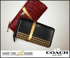 coach, need I say more and cash back