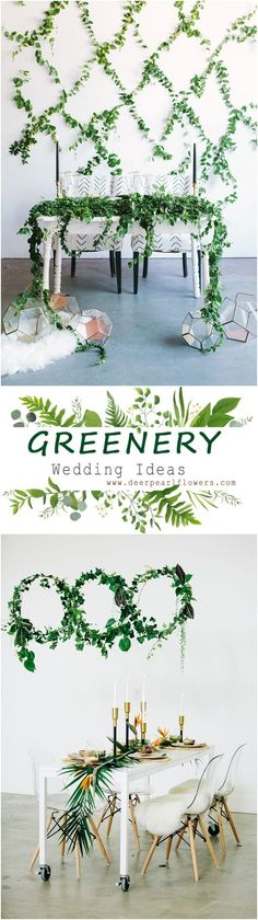 Greenery rustic wedd