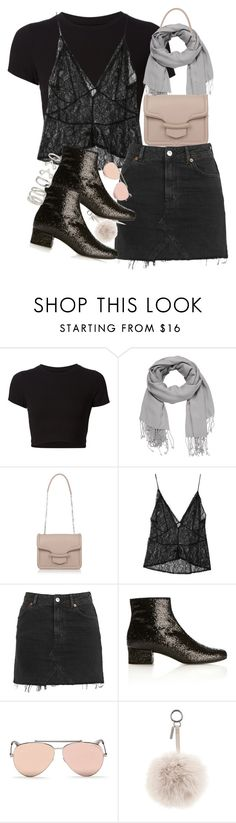 """""""Unbenannt #968"""" by flytotheunknown ❤ liked on Polyvore featuring Getting Back To Square One, maurices, Alexander McQueen, StyleNanda, Topshop, Yves Saint Laurent, Fendi and Forever 21"""