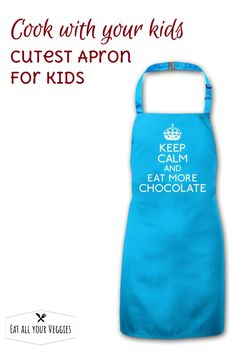 Keep Calm apron for kids.  So cute you wish it came in your size too!  #ad (affiliate link)