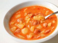 Frankfurtská polievka • recept • bonvivani.sk Cheeseburger Chowder, Soup, Ethnic Recipes, Soups