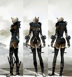 GW2 Style Character Creation, Character Design, Guild Wars 2, Sketches, Punk, Cosplay, Costumes, Inspiration, Gaming