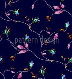High-quality Vector Patterns from patterndesigns.com - Dark-Rose-Design, designed by Figen Topbaş Fukara