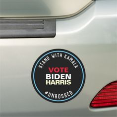 Stand With Kamala Unbossed BIDEN HARRIS 2020 Car Magnet #Politics Biden Harris, Biden Harris 2020 logo, Biden Harris 2020 SVG #joebiden #joebiden2016 #joebidenmemes, back to school, aesthetic wallpaper, y2k fashion