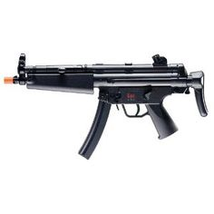 Airsoft Gun : H MP5 A Gun (Large) Airsoft Gear, Mp5, Guns, Silver Lining, Gaming, Teen, Play, Weapons Guns, Videogames