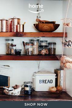 Messy Kitchen, New Kitchen, Kitchen Dining, Kitchen Decor, Kitchen Ideas, Kitchen Buffet, Pantry Ideas, Affordable Storage, Cuisines Design