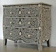 bone inlay chest drawer  for home decoration