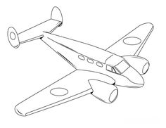 printable airplane coloring page pictures | pictures to color ... - Airplane Coloring Pages Printable
