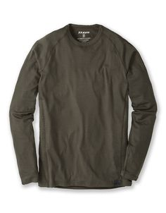 aca7a40253cd Merino Long Sleeve Crew-T - Base Layer Hunting Shirts