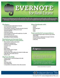 Evernote for Real Estate #yoursuccessleverage #evernote #realestate #organize #track #retrieveinfoeasily