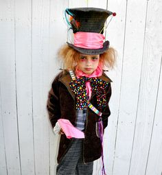 kids deluxe mad hatter costume boys movie costumes and mad hatters - Mad Hatter Halloween Costume For Kids