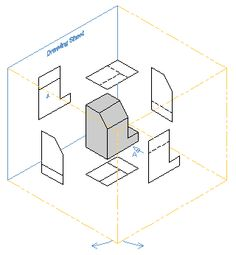 orthographic draw orthographic drawing pinterest see more ideas about orthographic drawing. Black Bedroom Furniture Sets. Home Design Ideas