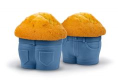 Muffins are so delicious. The problem is, if you eat too many you end up with quite the muffin top drooping over your jeans. These Muffin Tops Cupcake Molds Cupcake Mold, Cupcake Cakes, Minion Cupcakes, Muffin Cupcake, Stud Muffin, Cupcake Liners, Cupcake Art, Cupcake Wrappers, Birthday Cupcakes