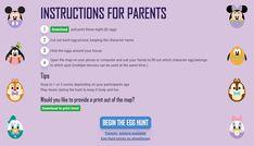Magical Egg Hunt returns to Shop Disney Disney Easter Eggs, Egg Pictures, Cute Egg, Disney World Theme Parks, Disney Games, Interactive Map, Character Names, Egg Hunt, Shopping