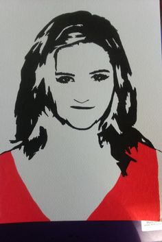 My #artwork of #DiannaAgron #sketch #drawing #portrait #painting #artists  #glee #TV #movies #music on my #wedsite