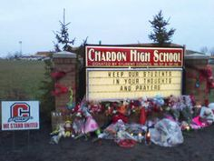 School shootings leave deep trauma, require long-term healing by school communities ...Chardon,Ohio (my state)