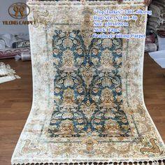 Handmade Silk Carpets & Rugs from Yilong Carpet factory.#art #handmaderugs #handknottedsilkrugs #silkrugs #handknottedrug #handknottedsilkrug #persianrug #handknottedpersianrug #persianrug #chinesehandmaderug #chinesesilkrug #chinasilkrugs #chinesesilkrugsforsale