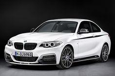 BMW M Performance Parts per Serie 2 Coupé e X5