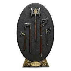 Lord of the Rings The Arms of Gimli Weapon Set by Sideshow   Lord of the Rings Weapon Sets Shop