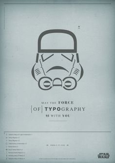 The Force of Typography on Behance