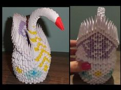 Swan How To Make A Paper Origami 3D