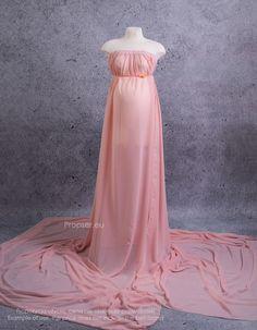 Spódnica do sesji ciążowej - w kolorze pudrowego różu Maternity Gowns, Photo Props, Victorian, Formal Dresses, Skirts, Fashion, Dresses For Formal, Moda, Skirt