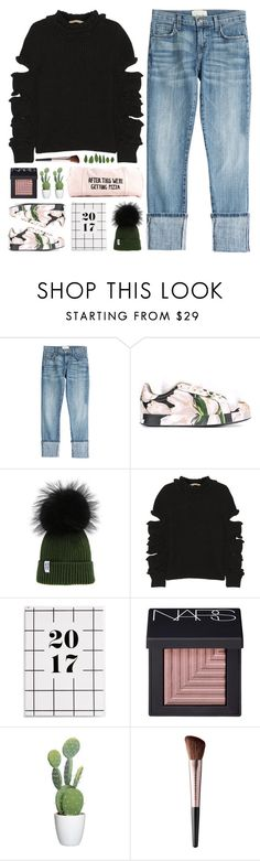"""Beanie Baby"" by fee4fashion ❤ liked on Polyvore featuring Current/Elliott, Dolce&Gabbana, Christopher Kane, NARS Cosmetics and Urban Decay"