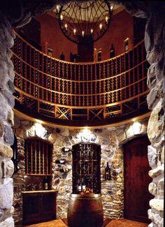 amazing wine cellar!