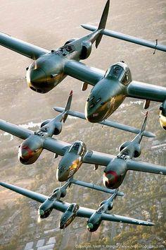 P-38 Lightnings
