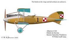 Albatros C.XII of the Polish Air Force 1920's