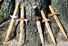 Wooden daggers by fevereon