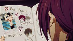Nitori's secret journal ... part 2 ... Done by Haruka-x-Rin ... Free! - Iwatobi Swim Club, haruka nanase, haru nanase, haru, free!, iwatobi, nanase, rin, rin matsuoka, matsuoka, haruka, nitori, aiichiro nitori, aiichiro