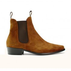 9e7e03c29 Classic Boot - Tan Suede Classic Tan, Beatle Boots, Suede Boots, Calf  Leather