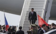 Presidente chino arriba a Praga camino de EEUU - http://a.tunx.co/g5A4T