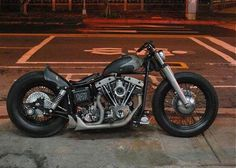 Harley Davidson News – Harley Davidson Bike Pics Motos Harley Davidson, Classic Harley Davidson, Bobber Bikes, Bobber Motorcycle, Motorcycle Garage, Old School Chopper, Custom Bobber, Custom Bikes, Custom Harleys