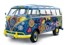 1966 VW T1 Samba Bus - peace!