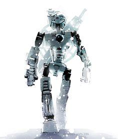 """Art by Yannick Godts AKA """"Boy with a Blue Umbrella"""" Bionicle Heroes, Lego Bionicle, Blue Umbrella, Bio Art, Hero Factory, Lego Blocks, Lego Moc, Lego Creations, Lego Ninjago"""