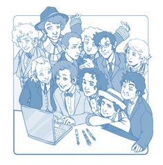 ✰ ✰ Happy 50th, Doctor Who! ✰ ✰ by ravennowithtea on tumblr