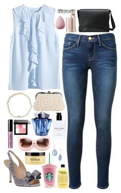 """""""Betsy - $5,630.00"""" by shazellove ❤ liked on Polyvore featuring H&M, Frame Denim, Stella & Dot, Kate Spade, Bobbi Brown Cosmetics, Thierry Mugler, Fresh, Gucci, Wildfox and philosophy"""